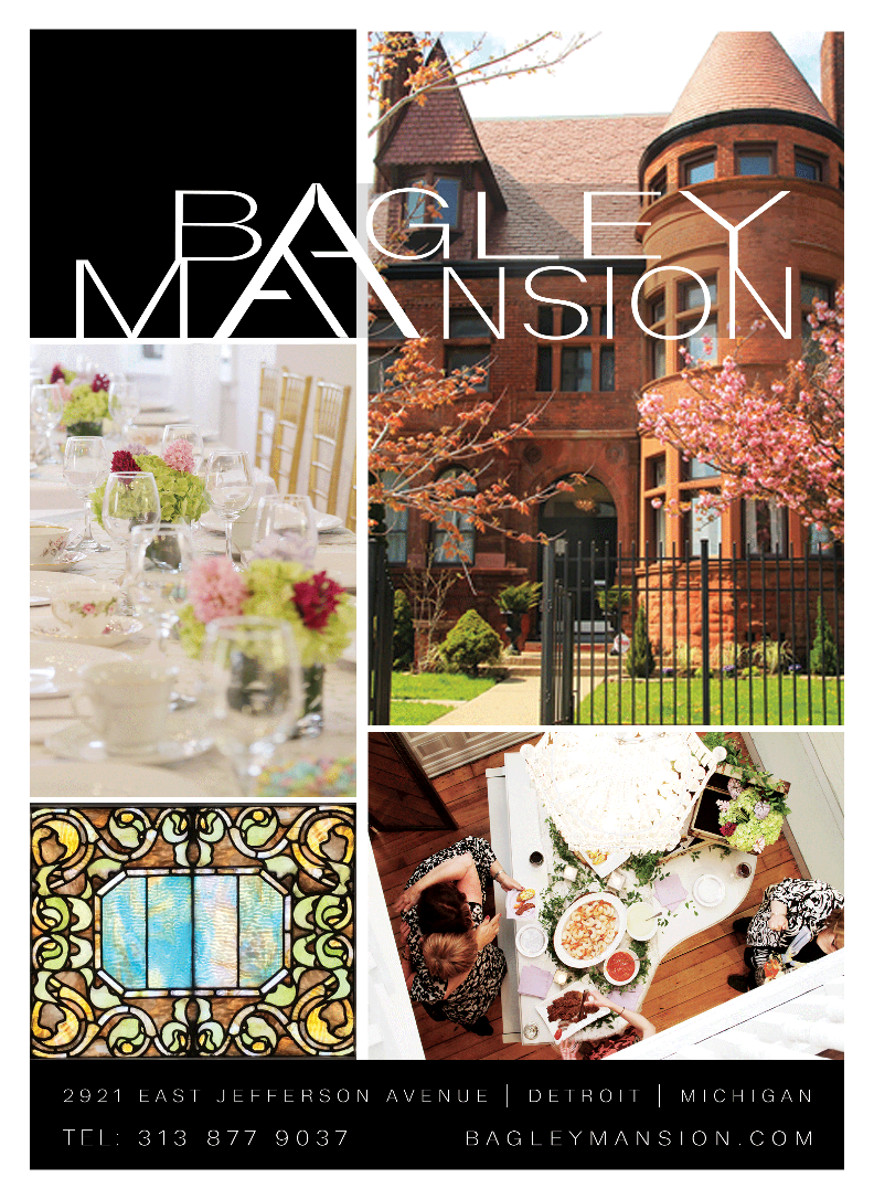 The Bagley Mansion, event venue downtown detroit, michigan